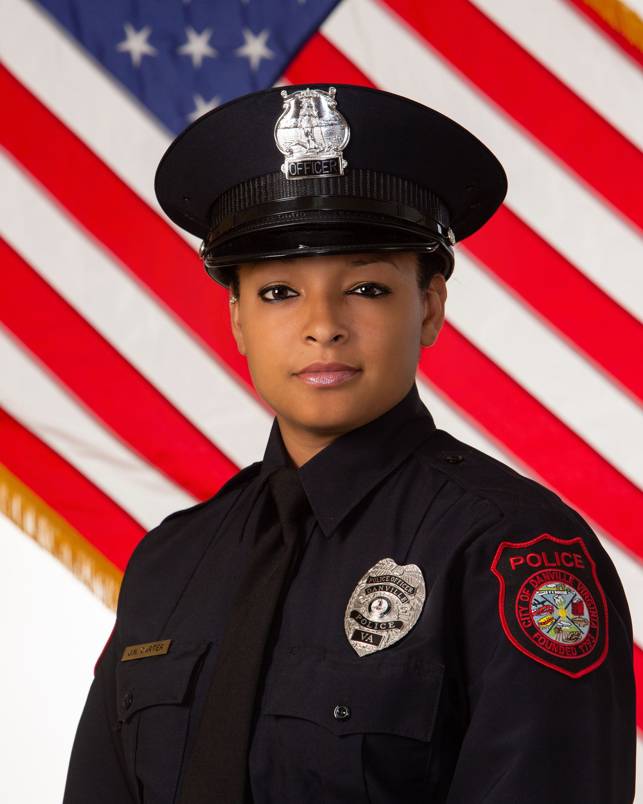 Officer J.N. Milan-Carter